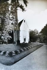 Château des Brétignolles - Français:   Photographie ancienne de la chapelle du Château des Brétignolles