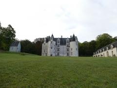 Château des Brétignolles - Français:   Domaine des Brétignolles: la chapelle, le château et les communs; à Anché (37500), Indre-et-Loire.