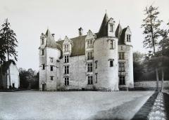 Château des Brétignolles - Français:   Photographie ancienne du Château des Brétignolles