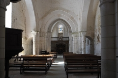 Eglise Notre-Dame - Deutsch:   Katholische Pfarrkirche Notre-Dame in La Celle-Guenand im Département Indre-et-Loire (Centre-Val de Loire/Frankreich), Innenraum