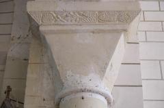 Eglise Notre-Dame - Deutsch:   Katholische Pfarrkirche Notre-Dame in La Celle-Guenand im Département Indre-et-Loire (Centre-Val de Loire/Frankreich), Kapitell