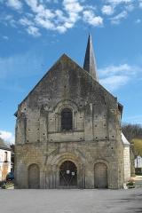 Eglise Notre-Dame - Deutsch:   Katholische Pfarrkirche Notre-Dame in La Celle-Guenand im Département Indre-et-Loire (Centre-Val de Loire/Frankreich), Westfassade