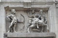 Hôtel ou Immeuble dit Maison du Centaure - Français:   Bas-relief du Centaure.