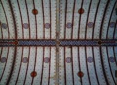 Eglise Notre-Dame - Deutsch:   Gewölbe der Kirche Unserer Lieben Frau, Rivière, Département Indre-et-Loire, Region Zentrum-Loiretal, Frankreich