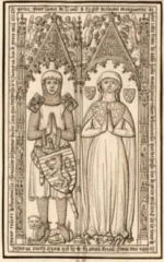 Maison du 16e siècle - Français:   dessin relevé pour gaignières, conservé à la BNF et numérisé par Gallica.