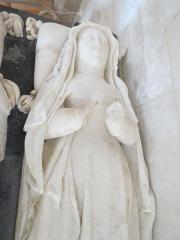 Maison du 16e siècle - Français:   Détail du gisant de Louise d\'Albret.