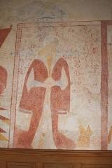 Eglise paroissiale Saint-Nicolas -  Église de Saint-Nicolas-des-Motets Peintures murales du XVIeme