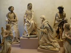 Eglise paroissiale Saint-Paterne - Français:   L'Adoration des Mages 17ème siècle