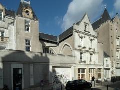 Ancienne église Sainte-Croix - Français:   Ancienne église Sainte-Croix de Tours