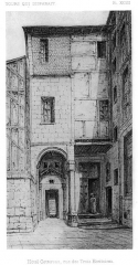 Hôtel Cottereau - Français:   Hôtel Cottereau, rue des Trois Écritoires
