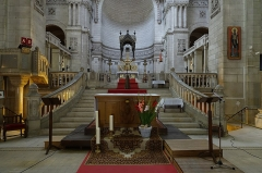 Basilique Saint-Martin - Français:   Chœur de la basilique Saint-Martin de Tours (Indre-et-Loire, France).
