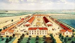 Domaine de la Donneterie et Ferme industrielle de Platé (également sur commune de Neuvy-le-Roi) - French engraver, lithographer and wood engraver
