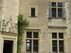 Château de la Possonnière, dit aussi Château de Ronsard - Français:   demeure de Ronsard Entrée