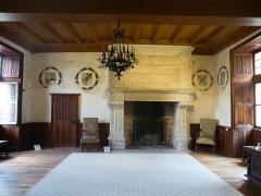 Château de la Possonnière, dit aussi Château de Ronsard - Français:   demeure de Ronsard intérieur