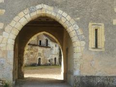 Château de la Possonnière, dit aussi Château de Ronsard - Français:   demeure de Ronsard Porche