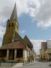 Eglise Saint-Gervais-Saint-Protais - Français:   Extérieur