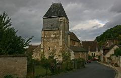 Eglise Saint-Genest - Deutsch:   Kirche Saint-Genest de Lavardin