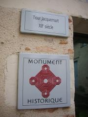 Tour Jacquemard - Français:   Tour Jacquemard de Romorantin-Lanthenay (Loir-et-Cher, France)