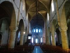 Eglise Notre-Dame - Français:   abbatiale Notre-Dame à Beaugency - intérieur