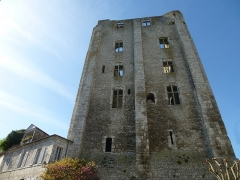 Donjon quadrangulaire, dit Tour de César -  Beaugency Tour César à Beaugency