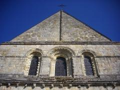 Eglise Notre-Dame - Église Notre-Dame de Bellegarde (Loiret, France): façade occidentale