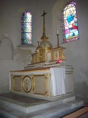 Eglise Notre-Dame - Église Notre-Dame de Bellegarde (Loiret, France): maître-autel