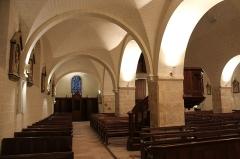 Eglise Saint-Mesmin - Français:   Intérieur de l\'église Saint-Mesmin restaurée en 2018