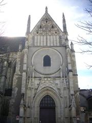 Eglise Saint-Aignan - Français:   Église Saint-Aignan d'Orléans (Loiret, France)