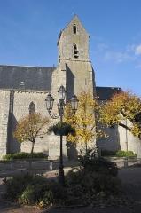 Eglise Saint-Aignan - Français:   Église Saint-Laurent, Outarville, Loiret, France