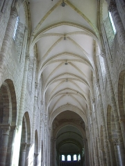 Eglise abbatiale Saint-Benoît -  Église abbatiale Saint-Benoît de Saint-Benoît-sur-Loire (Loiret, France)