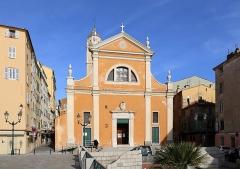 Cathédrale Santa Maria Assunta ou cathédrale Notre-Dame - English: Cathédrale Notre-Dame-de-l'Assomption d'Ajaccio