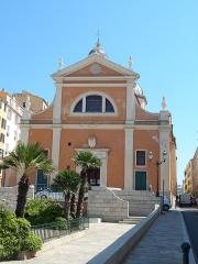 Cathédrale Santa Maria Assunta ou cathédrale Notre-Dame - English: cathedral our lady of the assumption, ajaccio