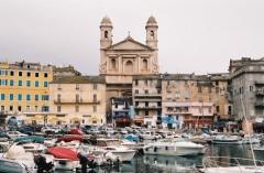 Eglise Saint-Jean-Baptiste -  Port et cathédrale de Bastia