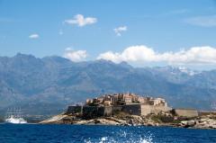 Remparts de la citadelle et Tour du Sel -  Calvi citadel