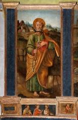 Eglise paroissiale Saint-Pierre-de-Piazza - English: Église Saint-Pierre-de-Piazza de Luri