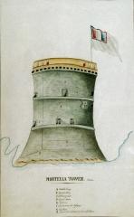 Ruines de la tour de la Mortella -