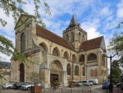 Ancienne abbaye Saint-Taurin - Français:   Évreux (département de l\'Eure, France): l\'église Saint-Taurin