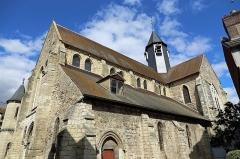Eglise Saint-Aubin - Français:   Pacy-sur-Eure (département de l\'Eure, France): l\'église Saint-Aubin
