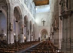 Eglise Saint-Ouen - Français:   Pont-Audemer (département de l\'Eure, France): vue intérieure de l\'église Saint-Ouen