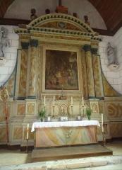 Eglise Saint-Christophe - Français:   Maître autel et tableau - Eglise Saint-Christophe - Reuilly - Eure (27)