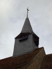 Eglise Saint-Christophe - Français:   Clocheton - Église Saint-Christophe - Reuilly - Eure (27)