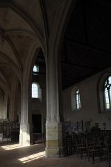 Eglise - Deutsch:   Katholische Kirche Saint-Hilaire in Tillières-sur-Avre im Département Eure (Region Normandie/Frankreich), Langhaus
