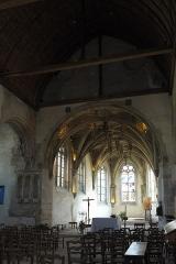 Eglise - Deutsch:   Katholische Kirche Saint-Hilaire in Tillières-sur-Avre im Département Eure (Region Normandie/Frankreich), Chor