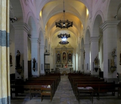Eglise Saint-Martin - Nederlands: Donzenac Saint Martin, interieur