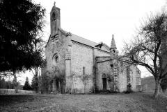 Chapelle du Mas-Laurent - Chapelle du château de Mas-Laurent, Croze, Creuse, Nouvelle-Aquitaine, France
