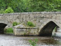 Pont Roby - Français:   Le pont Roby sur la Creuse, Felletin, Creuse, France.