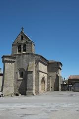 Eglise Saint-Martin - Deutsch:   Katholische Kirche Saint-Martin in Compreignac im Département Haute-Vienne (Nouvelle-Aquitaine/Frankreich)