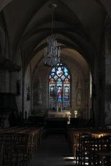 Eglise Saint-Martin - Deutsch:   Katholische Kirche Saint-Martin in Compreignac im Département Haute-Vienne (Nouvelle-Aquitaine/Frankreich), Innenraum