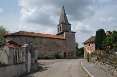 Eglise Saint-Denis - Deutsch:   Kirche Saint-Denis in Saint-Denis-des-Murs im Département Haute-Vienne der Region Lomousin (Frankreich)