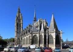 Eglise Notre-Dame - Français:   Caudebec-en-Caux (commune de Rives-en-Seine, département de Seine-Maritime, France): l\'église Notre-Dame